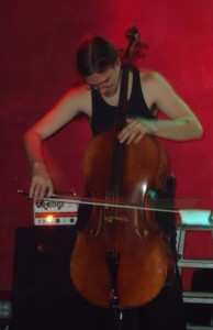 Mike Lunapiena on Cello