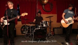 J Johnson, Chris Weinberg and Tom Devaney at PAs Lounge, Somerville Mass, 2010.